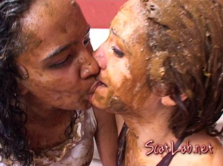 Forced to swallow scat 8 (Shit Girls) Scat Lesbian [DVDRip] SG Video