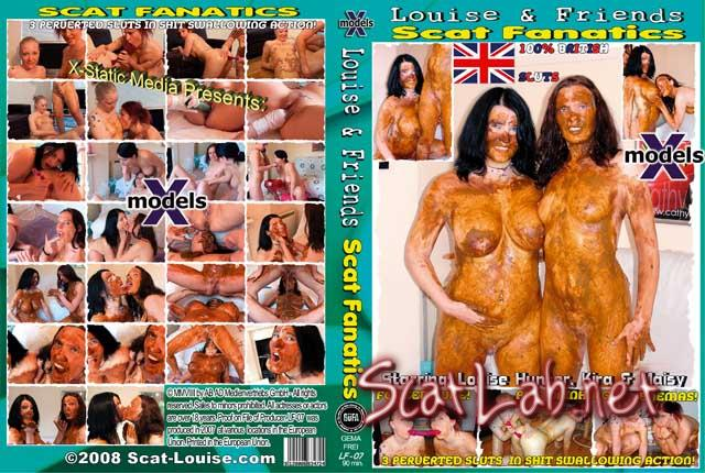 Louise & Friends 7 - Scat Fanatics (Louise Hunter, Kira, Maisy) Dirty Anal, Scat Lesbian [DVDRip] Germany