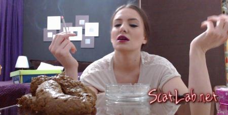 Playing With My Poop (Dianaspark) Efro, Smoking Scat [FullHD 1080p] Defecation