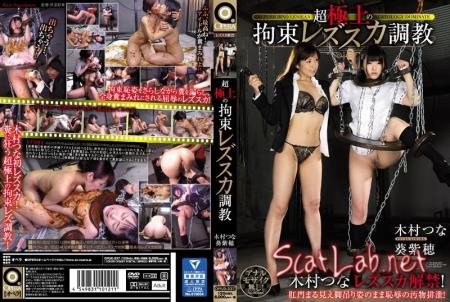 Tied Up at a Super High Level: The Lesbian Scat Training (Shiho Aoi, Tsuna Kimura) Scat / Japan [FullHD 1080p] Opera