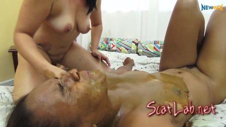 Licking Mary's Dirty Ass (Mary Claire) Scat / Lesbian Scat [FullHD 1080p] NewMFX