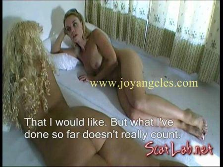 Force Joy Anal First (Angeles, Anabel) Scat / Lesbian [SD] Joy (Angeles)