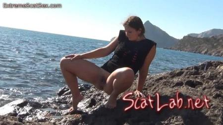 Crap My Pants By The Sea (Nadja) Scat / Netherlands [HD 720p] ExtremeScatSex