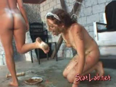 111 Your Slavery Day Has Come (Slavery) Scat / Vomit [DVDRip] Scat Domination