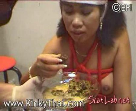 A Nose Full Of Dog Shit (Girl) Japan Scat / Humiliation [SD] Kinky Thai