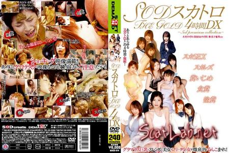 THE GOLD DX scatology SOD for 4 hours (Nozomi Kimura) Scat / Japan [DVDRip] SOD