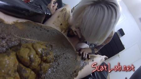 Fucked DEEP  HARD Covered Poop After Catching a Voyeur! (Jessica) Scat / Shit [FullHD 1080p] ScatShop