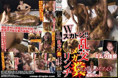 Scat!! Orgy Mega Shit Lynch (Kana Mimura, Shinobu Takashima) Group Sex / Japan Scat [SD] Vamp Freyja