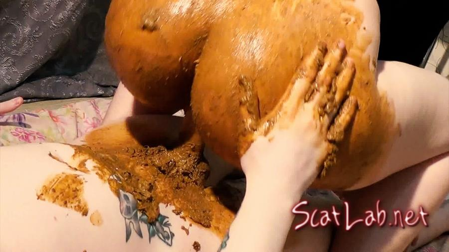 Shitty lubricant, DAT ASS and cum finish (Dirty Betty) Scat / Poo [FullHD 1080p] Scatshop