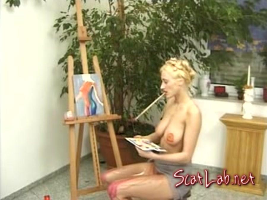 Talanted Painter (Fanny Steel) Scat / Germany [SD] SG Video