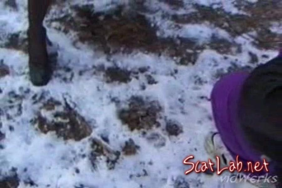 Piss In The Snow Wood (Fanny Steel) Scat / Germany [SD] SG Video