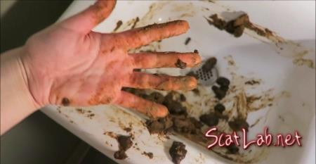 Poop and Smear In Sink (Love Rachelle) Scat / Solo [FullHD 1080p] LoveRachelle2