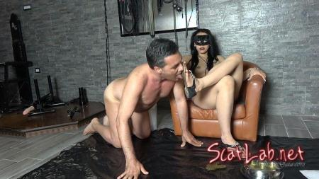 SHIT LICKER SLAVE (MISTRESS GAIA) Shit / Poop [HD 720p] Scat Extreme
