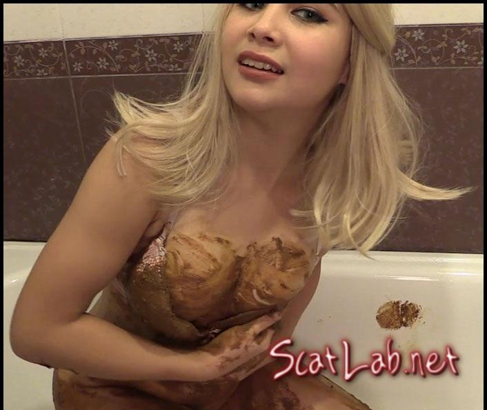 Scat smearing – Princess Mia and toilet slave (Princess Mia) Scat / Shit [FullHD 1080p] Defecation Extreme