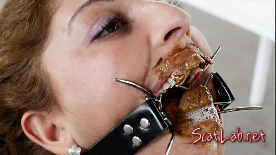 Scat Domination Open Mouth By Mikaela Wolf 18 Years Old (Slave Natasha) Scat, Femdom, Lesbian [FullHD 1080p] SG-Video