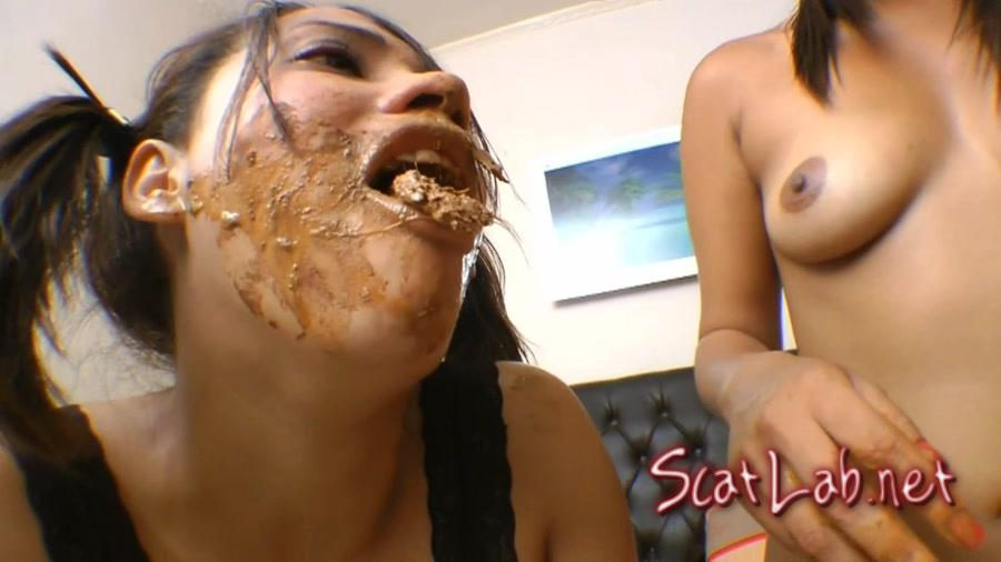 Swallow Whole Scat My Litle Slaves (Natasha Brunett, Slaves Eli, Vivi) Scat, Farting, Femdom [FullHD 1080p] SG-Video