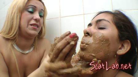 Eat Scat Real Hard Dominated - By Debora Gaucha (Debora Gaucha, Dayanne) Scat, Femdom, Lesbian [FullHD 1080p] SG-Video