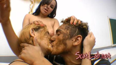 A Gift For My Boyfriend! (Celine, Izabella, Frank Zica) Scat / Domination [FullHD 1080p] SG-Video