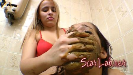 Scat Toilette Fight By Anny Portilla (Anny Portilla) Scat / Domination [FullHD 1080p] SG-Video