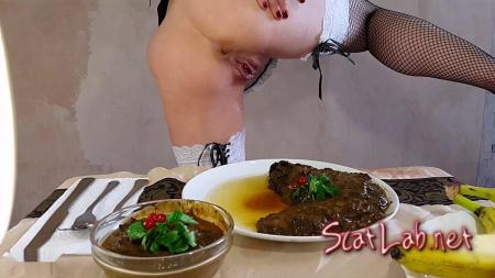 Anna's Private Dinner Vol.2 Part 1 (Anna Coprofield) Solo / Scat [FullHD 1080p] ScatShop
