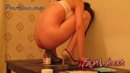 Young Girl Alina Pooping 04 (PooAlina) Scat / Solo Scat [FullHD 1080p] YezzClips