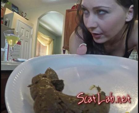 Treating My Husband To My (Shit Brownies) Poopping, Big pile [FullHD 1080p]