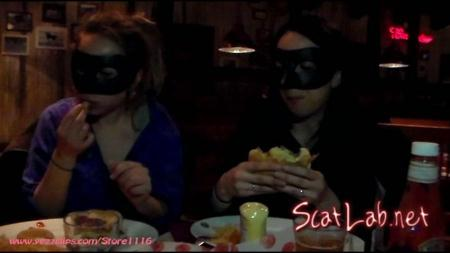 Exercise and Burger for Us and Two Big Shits for You (4 Scat Girls) Scat / Femdom [FullHD 1080p] YezzClips