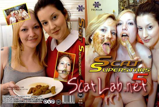 Scat Superstars 5 (Louise Hunter, Susan, Tiffany, Maisy, Kira) Lesbians, Shitting [DVDRip] X-Models