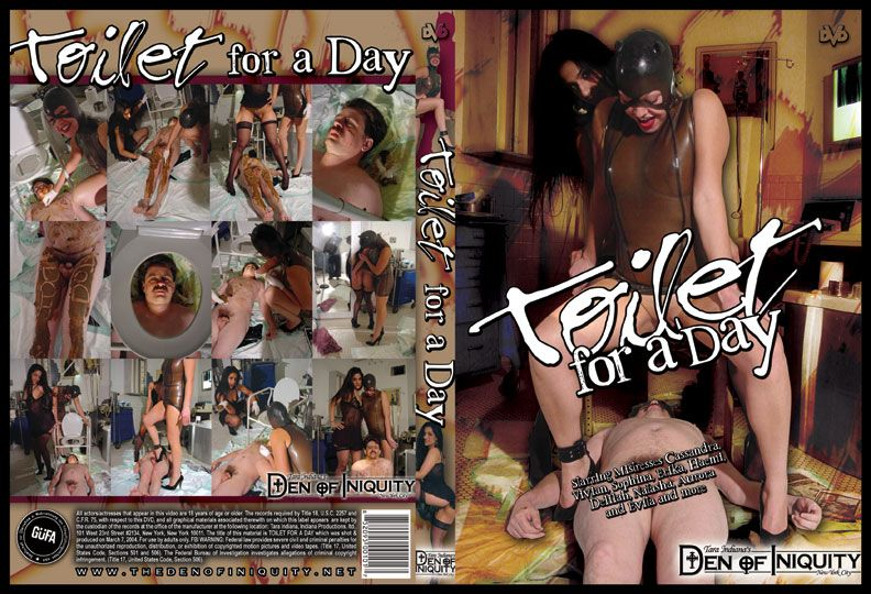 Toilet For A Day (ScatGirls) Domination Scat, Scat Porn [DVDRip] Femdom Scat