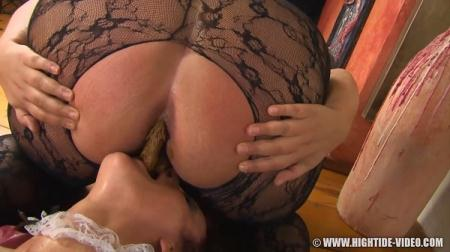 La Cucina Marrone (Kira, Marlen, Penelope) Vomit, Domination Scat [HD 720p] Hightide-Video