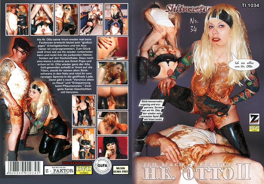 Shitmaster 34: I make everything for Mr. Otto 2 (Veronica Moser) Germany, Femdom Scat [DVDRip] Z-Faktor