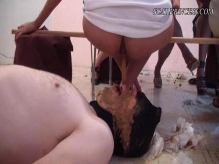 Toiletslaves know what to do (ScatGirls) Austria, Femdom Scat [DVDRip] Scatprincess.de