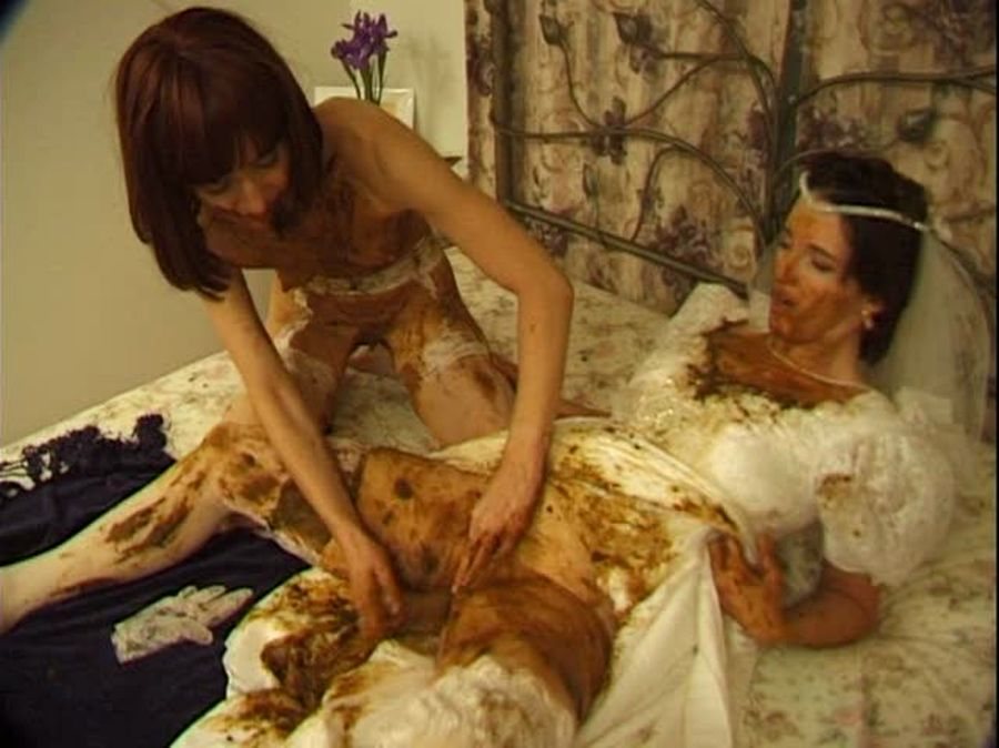 Brown Wedding Night (Prettylisa, Lady St. Claire, 1 male) Humiliation, Femdom Scat [SD] Hightide-Video