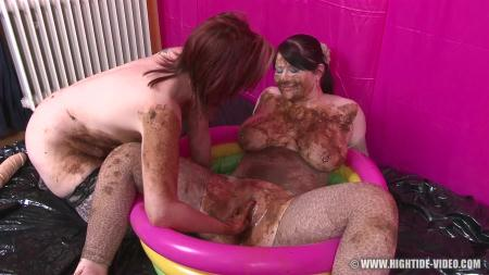 Pretty Lisa & Louise Hunter - Shit Eater 4 (Louise Hunter, Prettylisa, 1 Male) Scat, Lesbians, Group [HD 720p] Hightide-Video