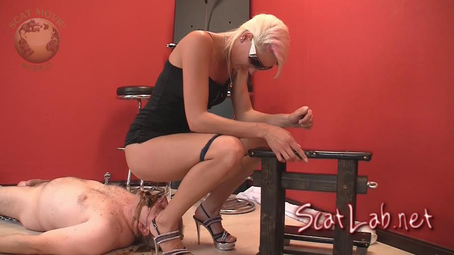 Very dirty scat session (Lady Chantal, Miss Cherie) Scat, Pissing, Femdom, Humiliation [HD 720p] Scat-Movie-World