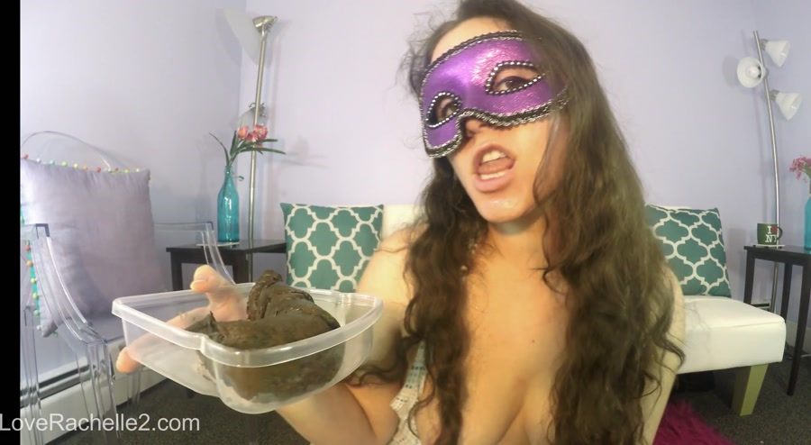 Lick and EAT This Perfect Poop With Me! (LoveRachelle2) Do A Crap, Solo [HD 720p] Big Farting Girls