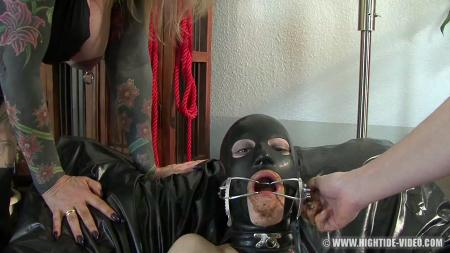 TALENT TEST (Veronica Moser, Mia, Marlen, 2 males) Scat, Femdom Group, BDSM [HD 720p] Hightide-Video