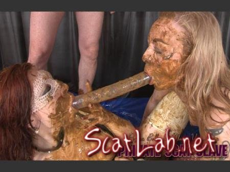 PRIVATE SCAT SLAVE (Regina Bella, Maisy van Kamp, 1 Male) Scat, Lesbians, Group [HD 720p] Hightide-Video