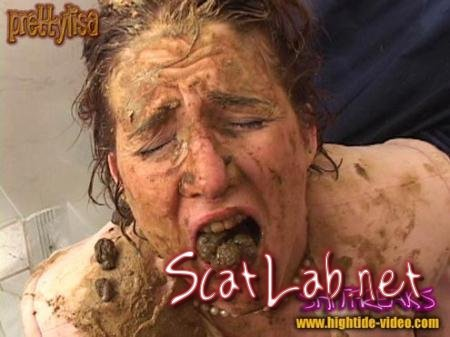 SHITFREAKS (Models: Prettylisa , various males) Scat, Fisting, Gaping [SD] Hightide-Video
