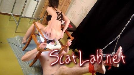 Exclusive Shit! Princess Mia again came up with another torture for her slave with Princess Mia and toilet slave (Princess Mia) Scatting, Domination [FullHD 1080p] Femdom Sca