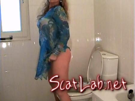 In Blue Dress (Ana Didovic) Solo Scat / Netherlands [SD] DatingRealGirls