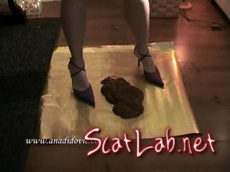Golden Poo (Ana Didovic) Solo Scat / Netherlands [SD] DatingRealGirls
