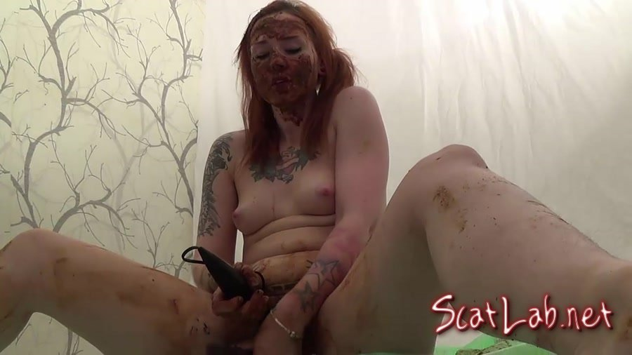 BADASS Shit and masturbation, Pantypoping and smearing (Sweet Betty Parlour) Pooping Girls, Solo [FullHD 1080p] Play Dirty Anal
