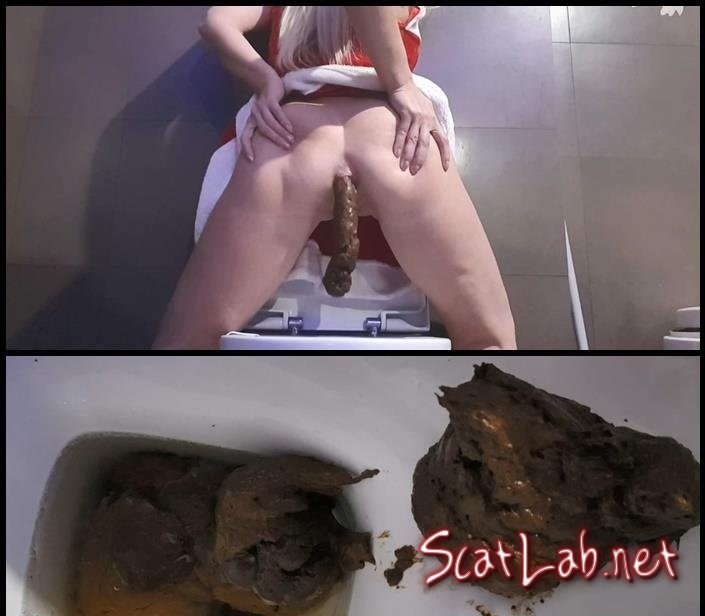 Take Your Xmas Shit with Love to Shit Girls (Kaidence King) Piles, Solo, Toilet [FullHD 1080p] Kaviar Scat