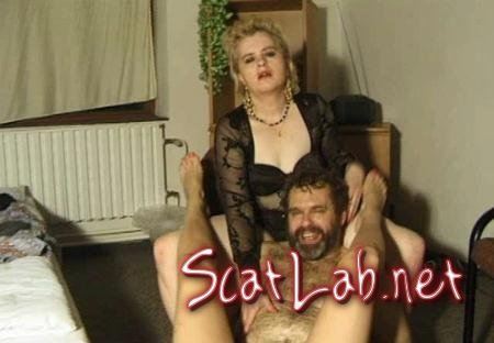 Dirty scat hobby Part 3 (MilfScat) Homemade, Femdom [SD] DirtyTimo