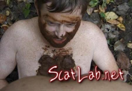 Dirty adventure in the forest. Part 2 (Dirtytimo) Humiliation, Outdoor [SD] PervertedScatSex