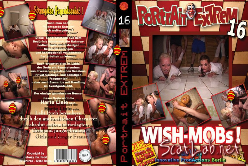 Portrait Extrem 16 - huh, again filthy scat here (Pipi and Anastasia) Fetish, Scatology, Sex Scat [DVDRip] KitKatClub