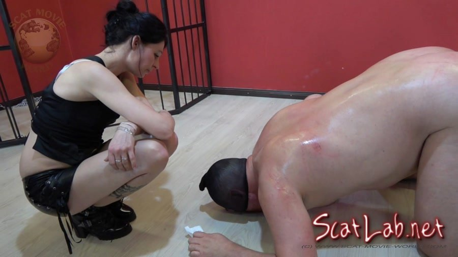Miss Jane trains her dog (scat-movie-world) Femdom, Shitting [FullHD 1080p] Domination Scat