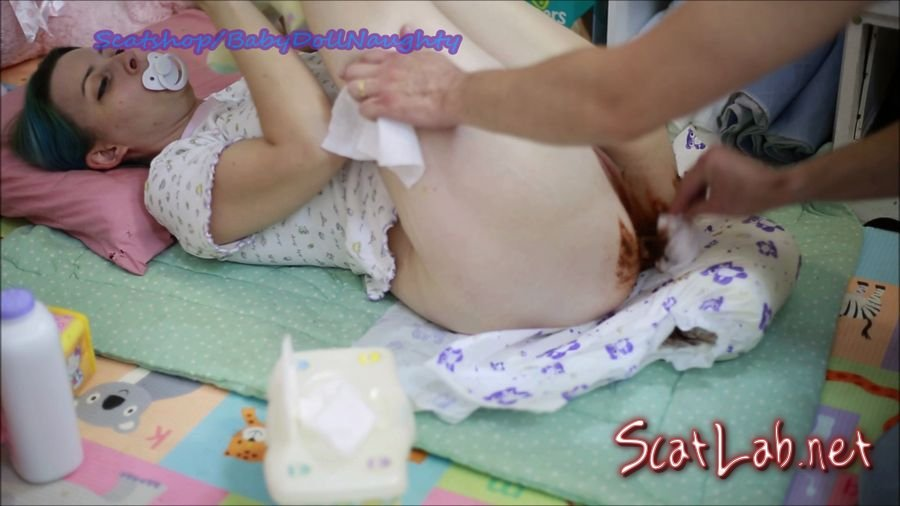 Daddy Changes me (BabyDollNaughty) Scatology, Amateur [FullHD 1080p] Smearing