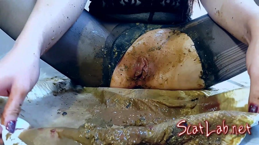 Black Pantyhose Diarrhea Ass Spoiled (Anna Coprofield) Smearing, Solo [FullHD 1080p] Shit In Pantyhose